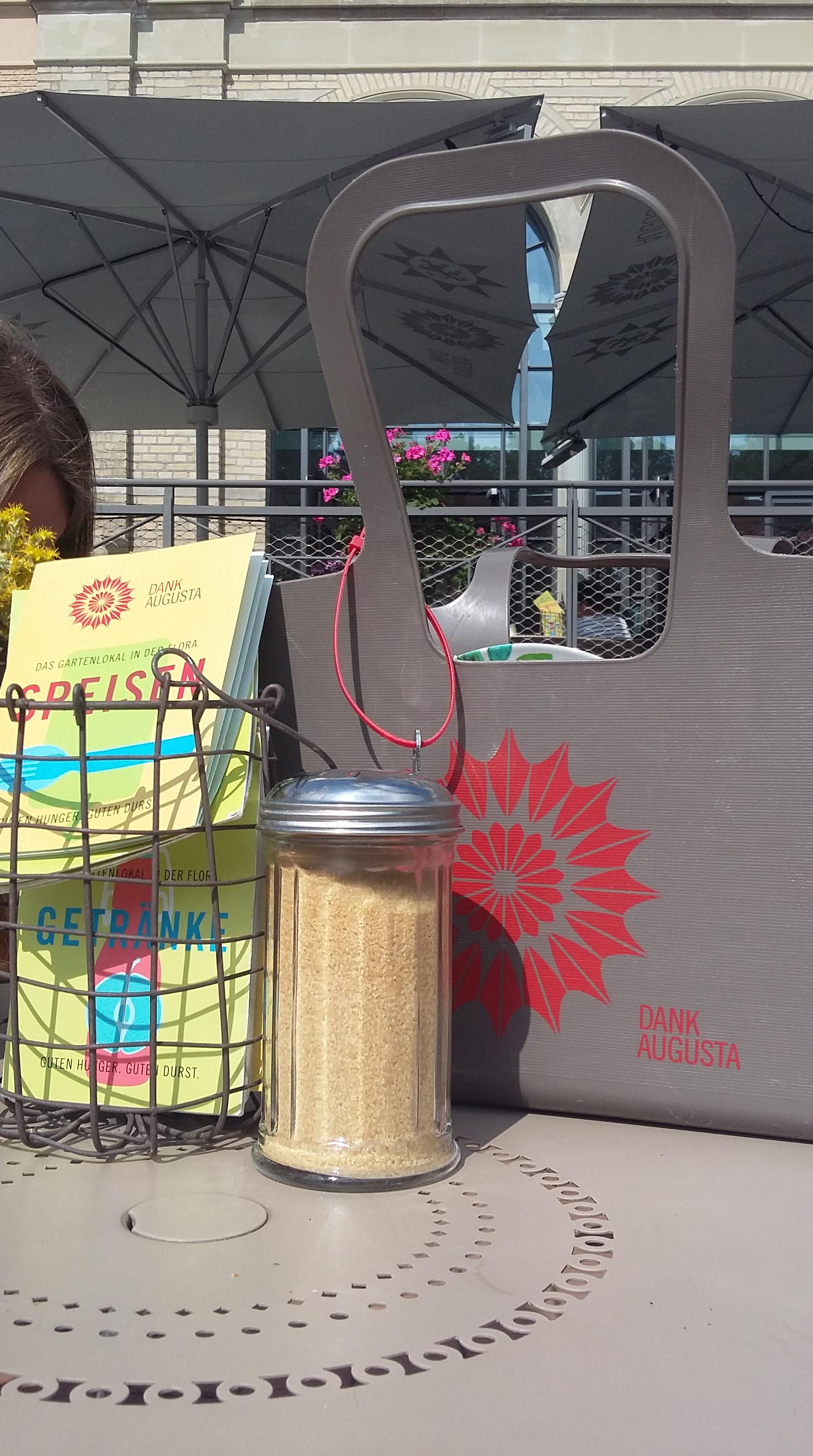 Dank Augusta in Köln: Picknick mitten in der Flora