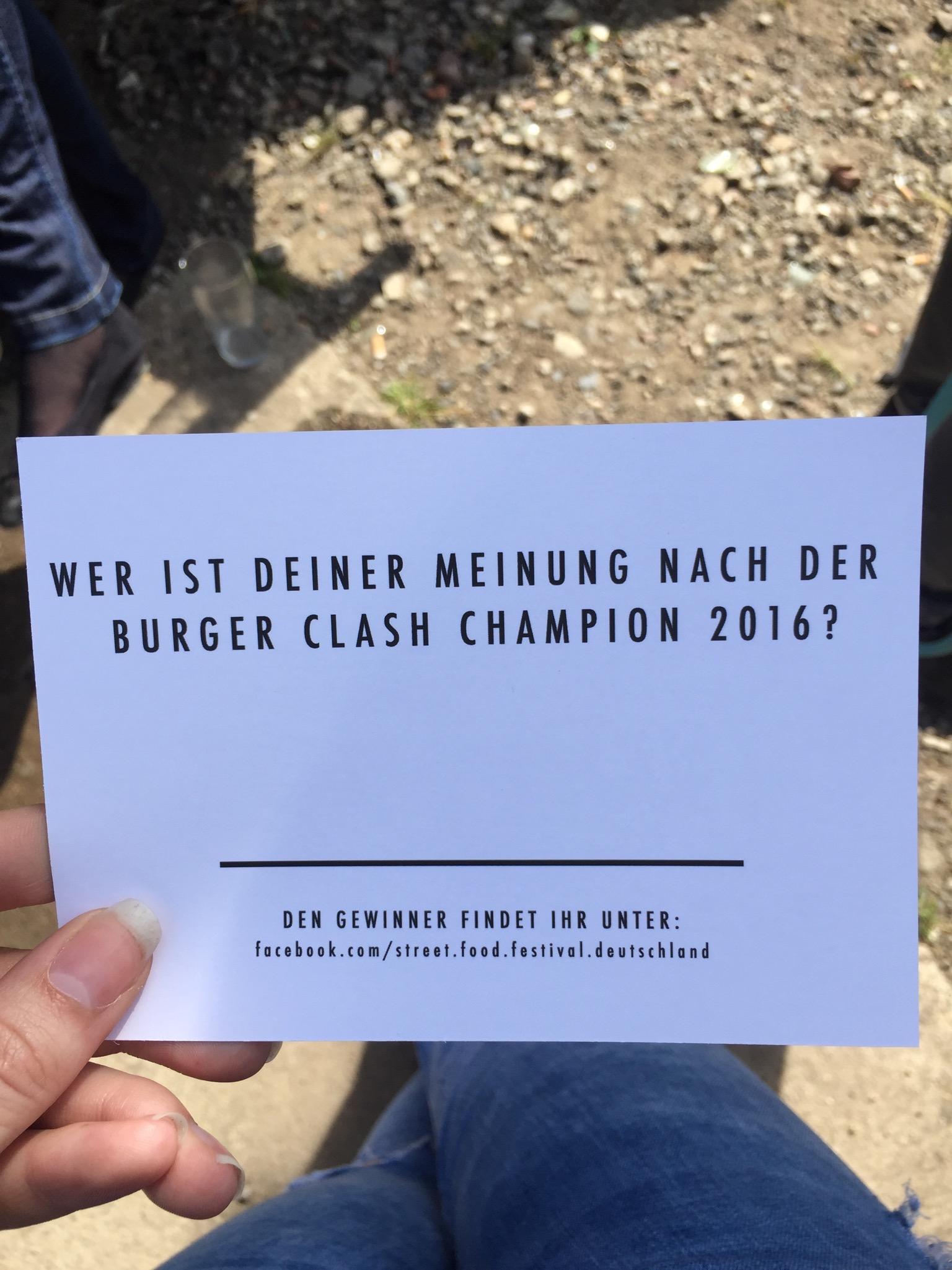 Burger Clash 2016 im Odonien, Köln